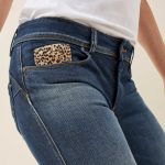 Jeans Push Up Wonder slim imprimé animal 99,95€