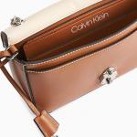 Sac bandoulière en cuir modulable avec fermoir CALVIN KLEIN® 249€